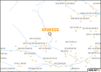 map of Krumegg
