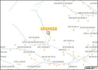map of Krumegg