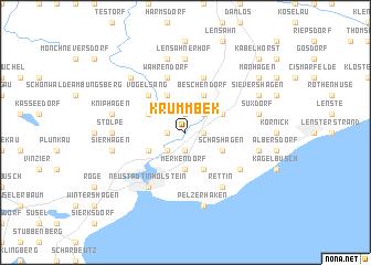 map of Krummbek
