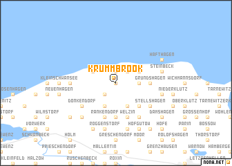 map of Krummbrook