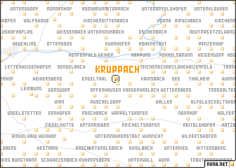 map of Kruppach