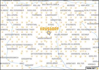 map of Krusdorf