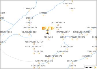 map of Krutik