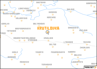 map of Krutilovka