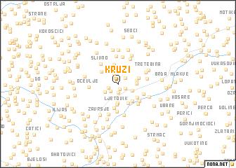 map of Kruzi