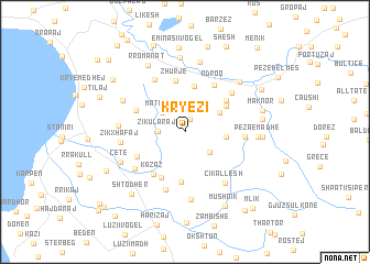 map of Kryezi