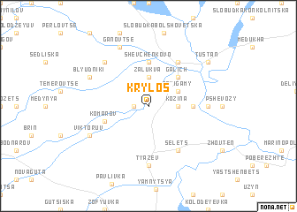 map of Krylos