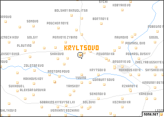 map of Kryl\