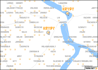 map of Krypy
