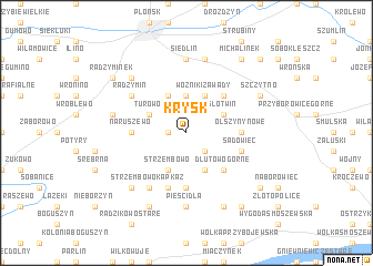 map of Krysk