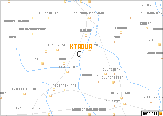 map of Ktaoua