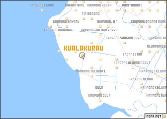 map of Kuala Kurau