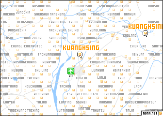 map of Kuang-hsing