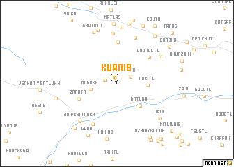 map of Kuanib