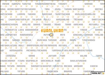 map of Kuan-lu-k\