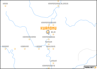 map of Kuanomu