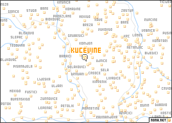 map of (( Kućevine ))