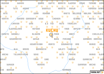 map of Kuchu