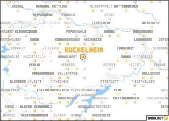 map of Kückelheim