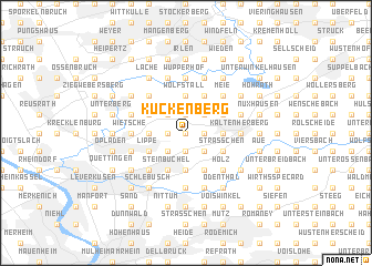 map of Kuckenberg