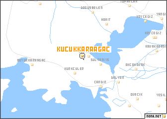 map of Küçükkaraağaç