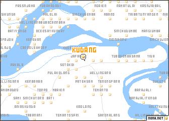 Kudang Gambia The map nonanet