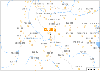 map of Kudog
