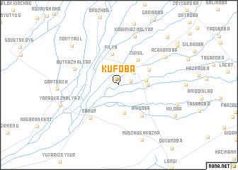 map of Kufoba