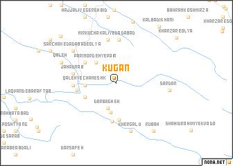 map of Kūgān