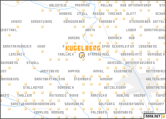 map of Kugelberg