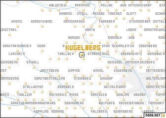 map of Kugelberg