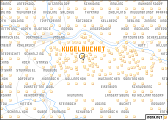 map of Kugelbuchet