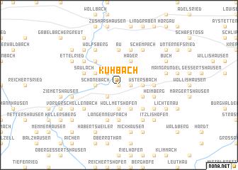 map of Kühbach