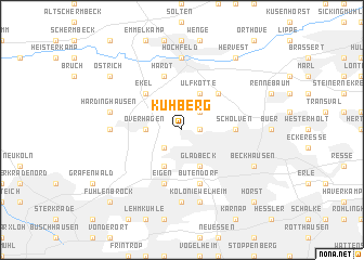 map of Kuhberg