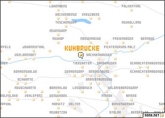 map of Kuhbrücke