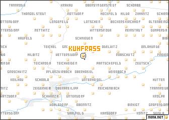 map of Kuhfraß