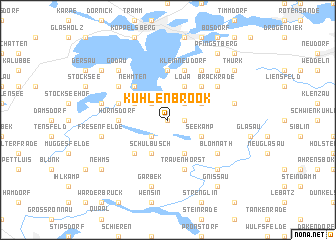 map of Kuhlenbrook