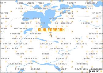 map of Kuhlenbrook