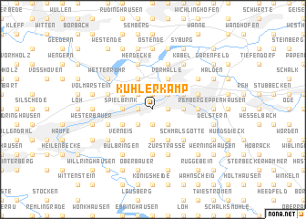 map of Kuhlerkamp
