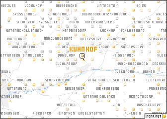 map of Kuhnhof