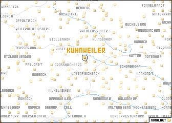 map of Kuhnweiler