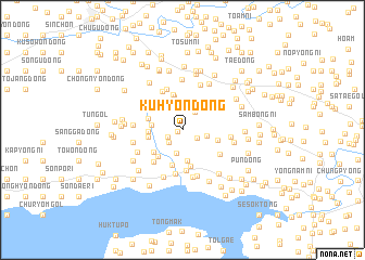 map of Kuhyŏn-dong