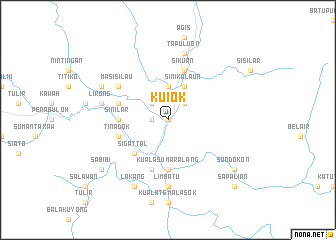 map of Kuiok