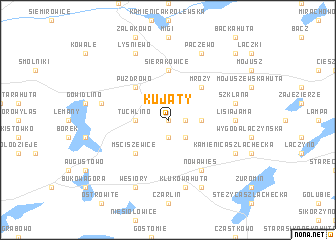 map of Kujaty