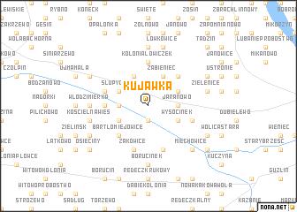 map of Kujawka