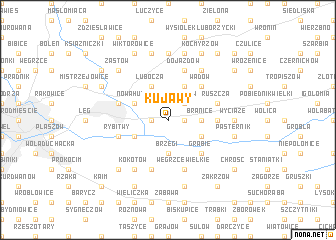 map of Kujawy