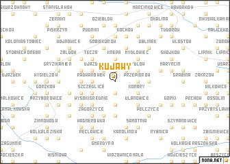 map of Kujawy