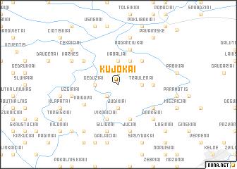map of Kūjokai