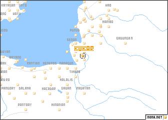 map of Kukar