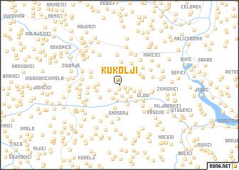 map of Kukolji